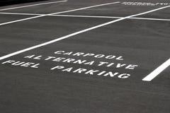 Espaço de estacionamento imagens de stock royalty free