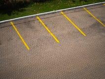 Espaço de estacionamento vazio Imagens de Stock Royalty Free