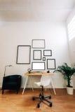 Espaço de trabalho criativo moderno Imagem de Stock Royalty Free