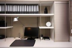 Espaço de trabalho moderno Fotos de Stock