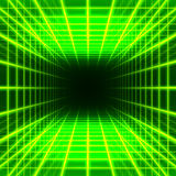 Espaço dimensional da grade ilustração do vetor