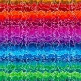 Espaço do arco-íris foto de stock