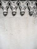 espaço do branco do detalhe da lápide do 19o século Foto de Stock