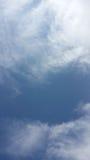 Espaço do céu azul Fotos de Stock Royalty Free