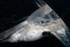 Espaço do gelo Fotografia de Stock Royalty Free