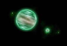 Espaço e estrelas Fotografia de Stock