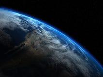 espaço Elementos desta imagem fornecidos pela NASA imagem de stock royalty free
