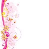Espaço em branco cor-de-rosa Foto de Stock