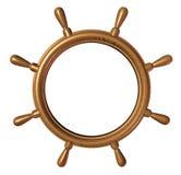 Espaço em branco da roda do navio Fotos de Stock Royalty Free