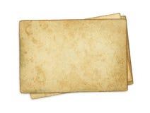 espaço em branco de papel do vintage Imagens de Stock Royalty Free
