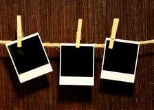 Espaço em branco de suspensão de Grunge do vintage Foto de Stock