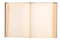 Espaço em branco do livro velho Fotos de Stock Royalty Free