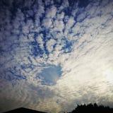 Espaço entre nuvens fotos de stock royalty free