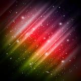 Espaço, fundo da Aurora Fotografia de Stock