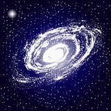 Espaço, galáxia, estrelas Fotografia de Stock Royalty Free