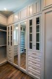 Espaço home residencial original do armário Imagem de Stock Royalty Free