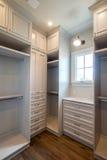 Espaço home residencial original do armário Fotos de Stock Royalty Free