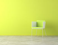 Espaço interior verde da cópia Fotos de Stock