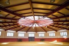 Espaço interno da praça de touros Imagem de Stock