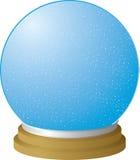 Espaço livre do globo da neve Fotos de Stock Royalty Free