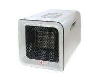 Espaço moderno Heater Isolated no branco Foto de Stock