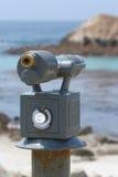 Espaço na rocha do pássaro perto de Monterey fotos de stock royalty free