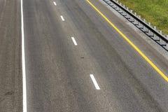 Espaço vazio da cópia da estrada nacional fotografia de stock royalty free