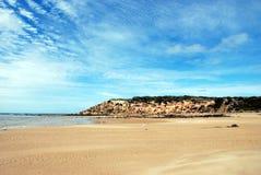 Espaços abertos largos na praia Foto de Stock