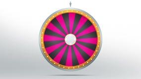 24 espaços da fortuna da roda ilustração do vetor