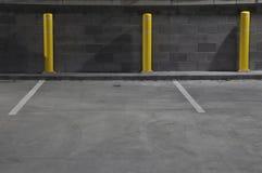 Espaços de estacionamento Foto de Stock