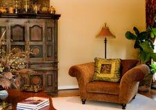 Espaços vivos elegantes Foto de Stock Royalty Free