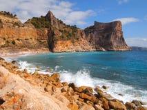 España, costa Fotografía de archivo libre de regalías