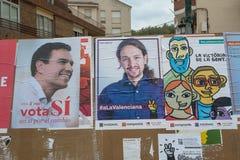 España 2016 elecciones Fotos de archivo libres de regalías