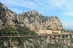 España Montserrat Imagenes de archivo