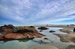 España, Playa de las catedrales foto de archivo libre de regalías