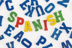 español Foto de archivo libre de regalías