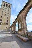Español en el monasterio de Santa Maria de Montserrat Foto de archivo