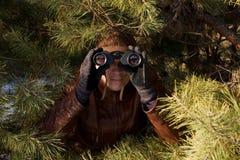 Espía Foto de archivo