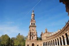 Espa plaza de zdjęcie stock