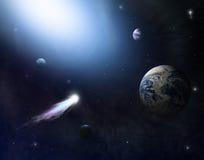 espace 2 lointain Photo libre de droits
