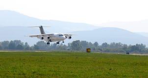 Espace britannique BAe 146-200 de systèmes de BAe Images libres de droits
