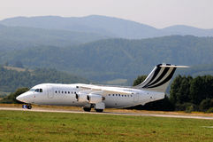 Espace britannique BAe 146-200 de systèmes de BAe Image libre de droits