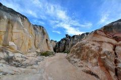 Espace délabré de granit Photo libre de droits