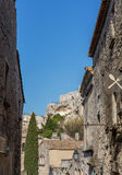 Espace de Baux De Provence Photo stock