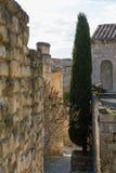 Espace 2 de Baux De Provence Photos stock
