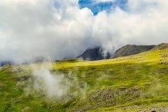 Espace de minerai, un passage de montagne dans le secteur anglais de lac photo libre de droits