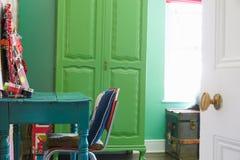 Espace de travail à la maison élégant Images stock