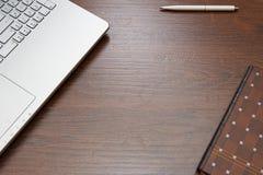 Espace de travail à la maison, arbre de contexte Image stock
