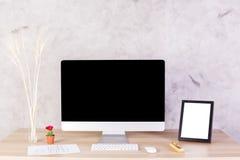 Espace de travail créatif Photos stock