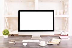 Espace de travail créatif de concepteur Image libre de droits